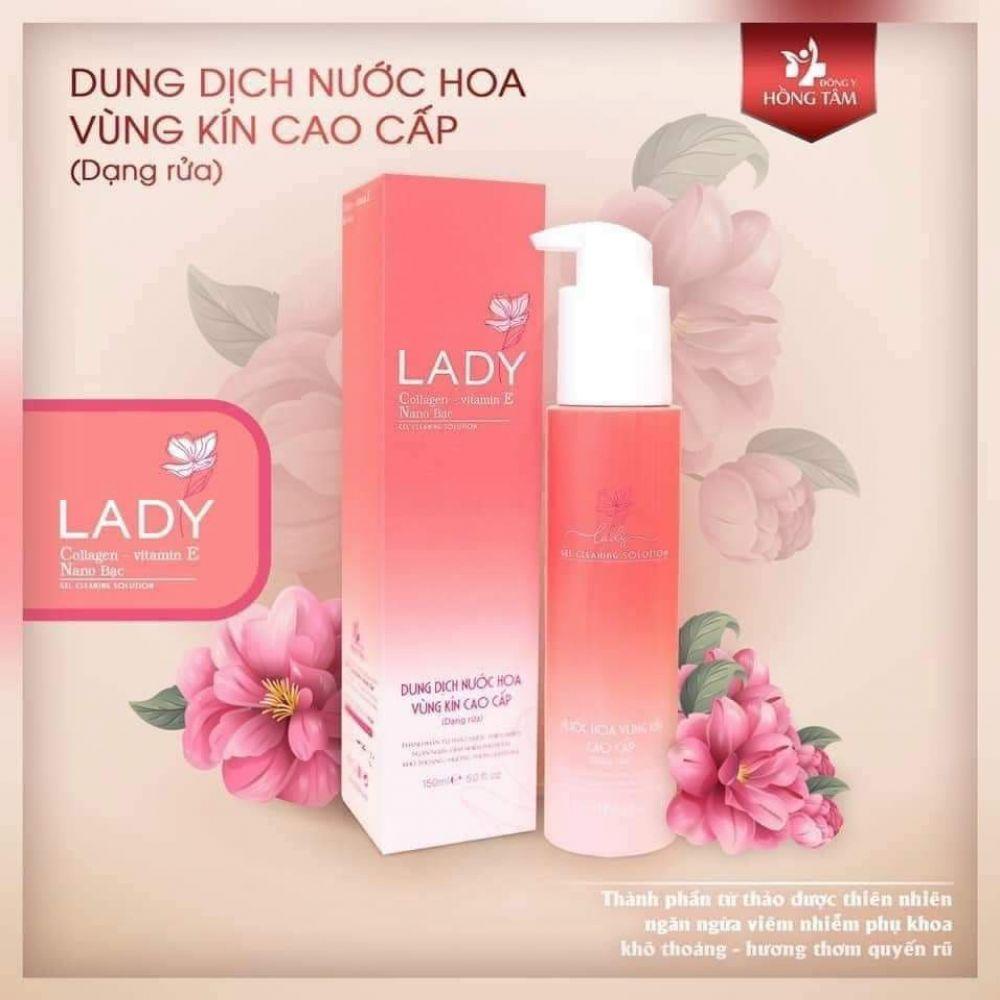 Dung dịch nước hoa vùng kín LADY