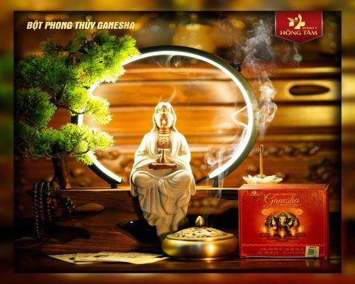 Bột Phong Thủy Ganesha